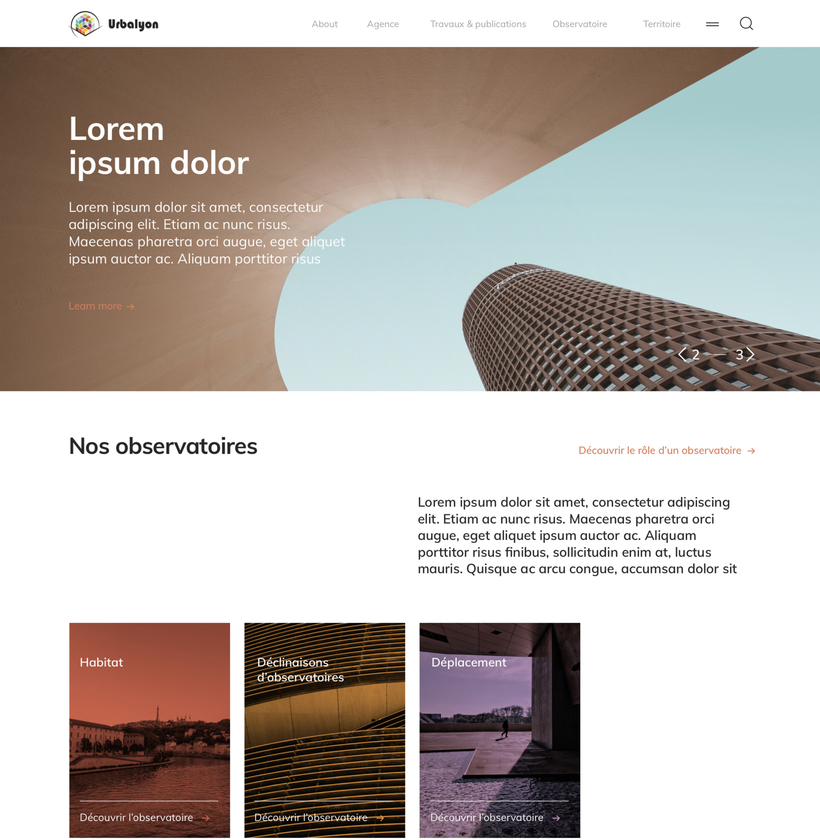Design web Urbalyon